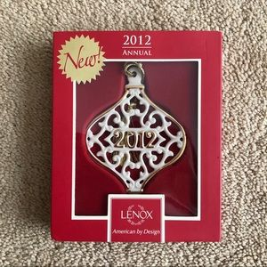 Lenox 2012 A Year to Remember Ornament